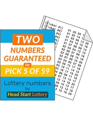 Head Start lottery numbers Pick 5/59 balls-2 Balls Guaranteed! UK Lotto Hotpicks