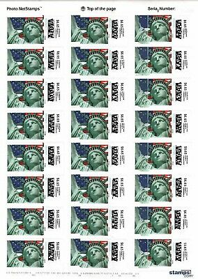 USPS 6-65 Priority Stamps Postage 24sheet Face Value 159-60 Ships Priority