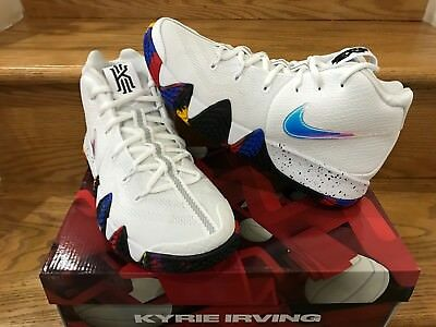 Nike Kyrie 4 NCAA March Madness White Multicolor Sz 11C-14 Men GS PS 943804-104