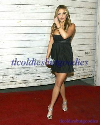 AMANDA BYNES BLACK SHORT DRESS LEGS CROSSED SHES THE MAN ACTRESS PHOTO 0025