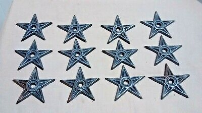 12 Cast Iron Stars  Architectual Stress Washer Texas Star Rustic Ranch  2 78