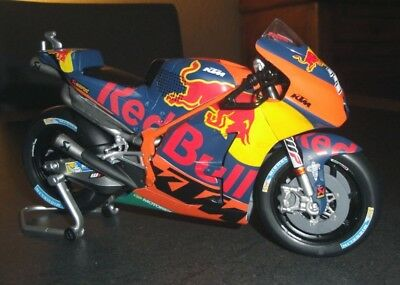NEW MINIATURE KTM RC 16 MOTO GP N° 38 REPRO CONSTRUCTEUR 112 RED BULL SMITH