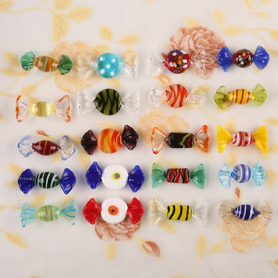 US Ship 20 Vintage Murano Glass Sweets Wedding Xmas Party Candy Decorations Gift