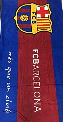FC Barcelona Soccer Team Cotton Beach Towel size  30x60