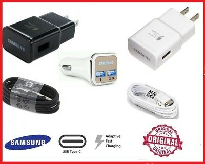 Original Samsung Galaxy S8 S8plus Note 8 Adaptive Fast OEM  Car Charger Type C