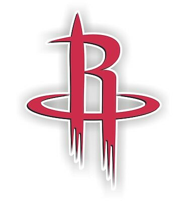 Houston Rockets  Decal  Sticker Die cut