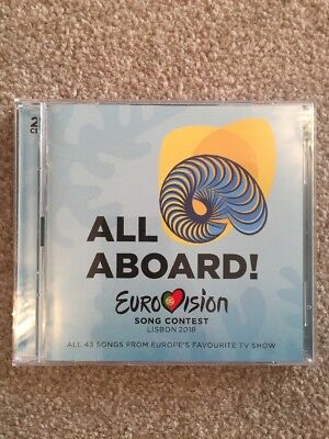 Eurovision Song Contest Lisbon 2018 2 CD - All Aboard