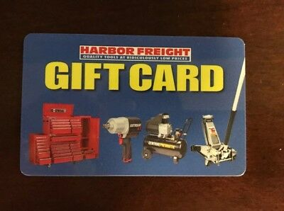 160 Harbor Freight Gift Card
