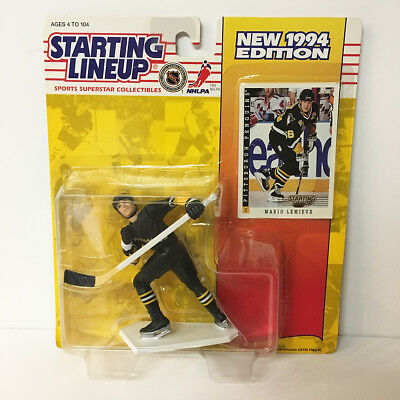 1994 Mario Lemieux NHL Starting Lineup Figure Penguins Kenner NIP unopened NEW
