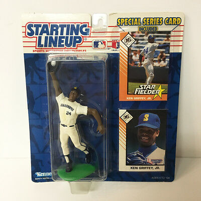 1993 Ken Griffey Jr- Starting Lineup Figure MLB Mariners Kenner NIP unopened NEW