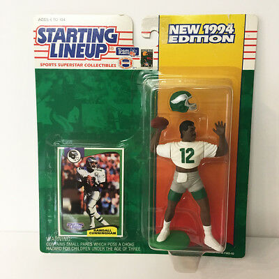1994 Randall Cunningham Eagles Starting Lineup Figure NFL Kenner NIP unopened