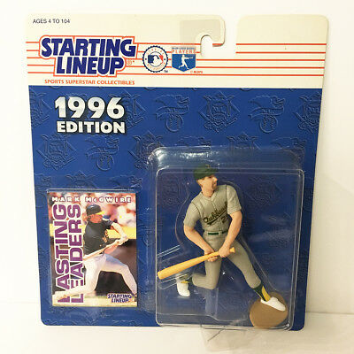 1996 Mark McGwire Oakland As Starting Lineup Figure MLB Kenner NIP NEW