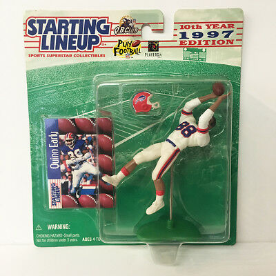 1997 Quinn Early Starting Lineup Figure NFL Buffalo Bills Kenner NIP NEW