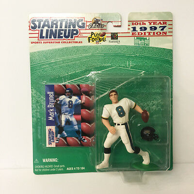 1997 Mark Brunell Starting Lineup Figure NFL Jaguars Kenner NIP NEW