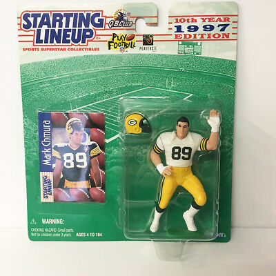 1997 Mark Chmura Starting Lineup Figure NFL Packers Kenner NIP NEW