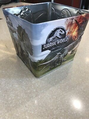 Jurassic World Fallen Kingdom Movie Theater Exclusive 130 oz Popcorn Tin