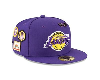 Los Angeles Lakers New Era 2018 NBA Draft Cap 59FIFTY Fitted Hat – Purple