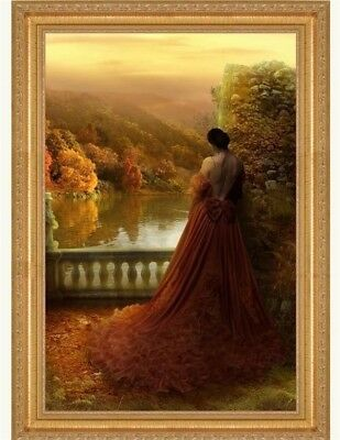 Victorian Trading Co Autumn de Paix Woman in  Ball Gown Print By  Kadri Umbleja