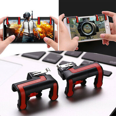 2 Fortnite PUBG Mobile Phone Shooter Controller Gaming Fire Trigger IOS Android