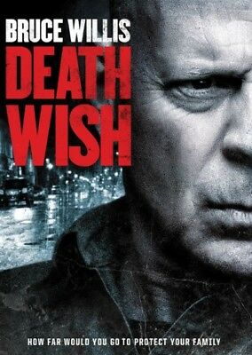 Death Wish DVD2018 NEW ActionThriller Crime NOW SHIPPING