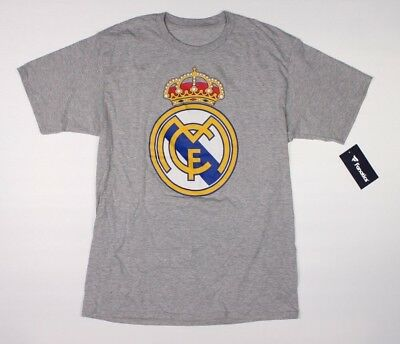 ICC Real Madrid CF Gray T-Shirt NWT International Champions Cup Soccer F1