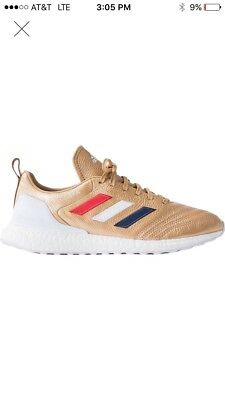 Kith x adidas Soccer COPA Mundial 18 UltraBoost - Gold size 8-5