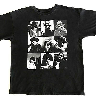 BIGGIE SMALLS TShirt Vintage Notorious B-I-G- Hip Hop Rap Music BROOKLYN MINT XL