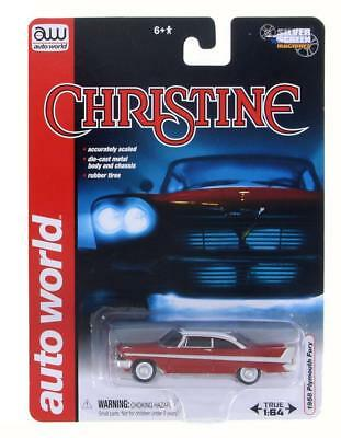 CHRISTINE 1958 PLYMOUTH FURY RARE 164 Scale COLLECTIBLE DIECAST MODEL CAR