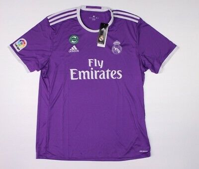 ADIDAS ICC Real Madrid Purple Training Jersey SZ XL NWT Soccer Football H1-A