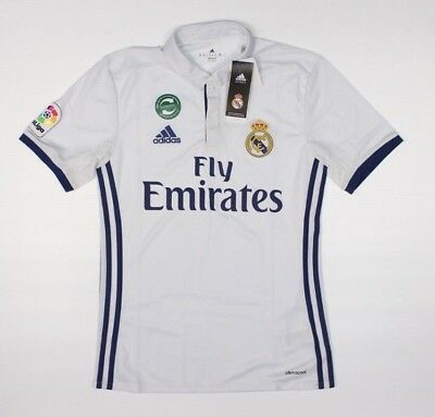 ADIDAS Real Madrid Official White Home Jersey NWT Soccer Football H1-2