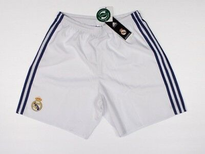 ADIDAS ICC Real Madrid White Shorts NWT International Cup Soccer H1-2