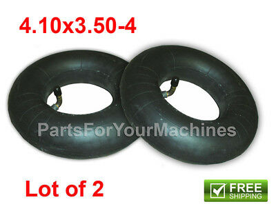 2 INNER TUBES 4-10x3-50-4 aka 4-103-50-4 LAWNMOWERS SCOOTERS SOME SCRUBBERS
