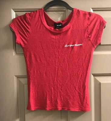 Wet seal red soft tee x-small
