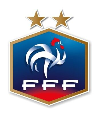 France World Cup Champion 2018 Soccer  Decal  Sticker Die cut