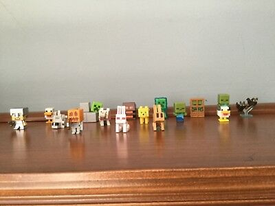 15 count Minecraft Minifigures