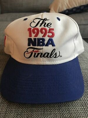 Rare Vintage Logo 7 1995 NBA Finals Houston Rockets Snapback Unworn