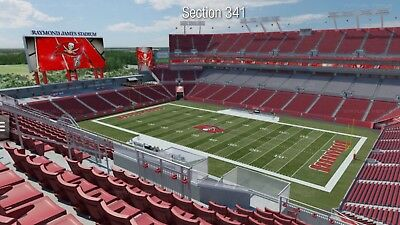 2 Pittsburgh Steelers Vs Tampa Bay Buccaneers Tickets 92418 Monday Night Game