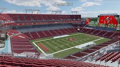 2 Philadelphia Eagles Vs Tampa Bay Buccaneers Tickets 91618 Super Bowl Champs