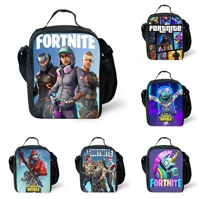 Fortnite Lunch Cooler Bag Box Kids School Trip Red Knight Battle Royale XBOX