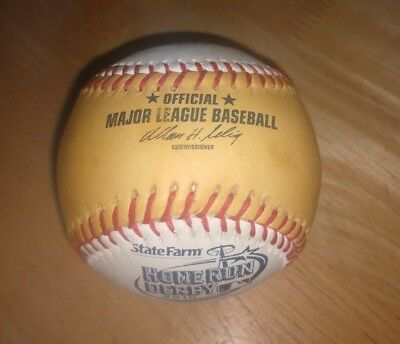 2010 ALL STAR GAME RAWLINGS GOLD HOME RUN DERBY OFFICIAL MLB BASEBALL