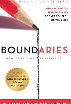 Boundaries  When to Say Yes How to Say No to Take Control of Your Life by Hen