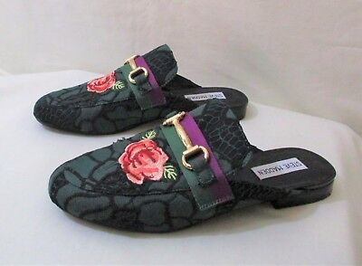 Womens Steve Madden Kandi Shoes size 8-5 Green Floral