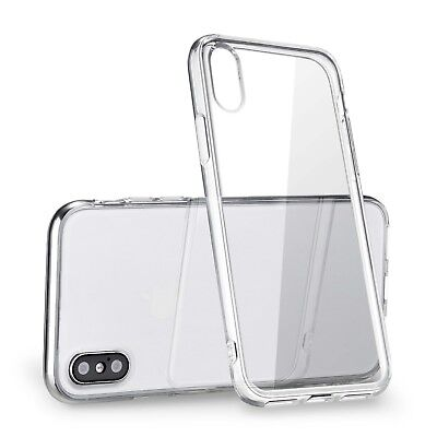 For Apple iPhone XS Max Case 6-5 Silicone Clear Bumper Gel iPhone 10S Max Cover