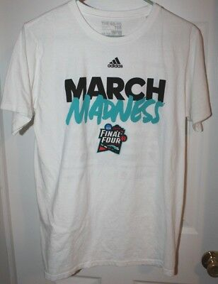 Mens ADIDAS 2018 NCAA MARCH MADNESS BASKETBALL TOURNAMENT T-SHIRT