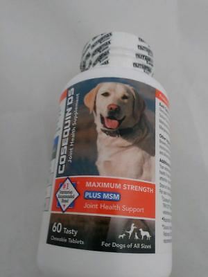 Cosequin  DS Plus MSM For Dogs 60 Chewable Tablets by Nutramax