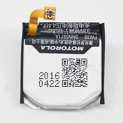 OEM Original SNN5971A FW3S Battery For Moto 360 2nd-Gen 2015 Smart Watch FW3S