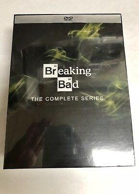 Breaking Bad The Complete Series DVD 21-Disc 2014 Box Set New - Sealed