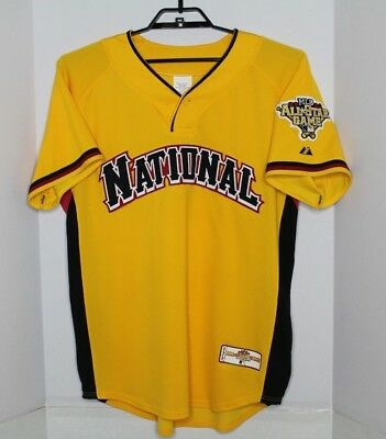 Majestic 2006 MLB ALL STAR GAME PITTSBURGH NL Polyester BASEBALL JERSEY Large