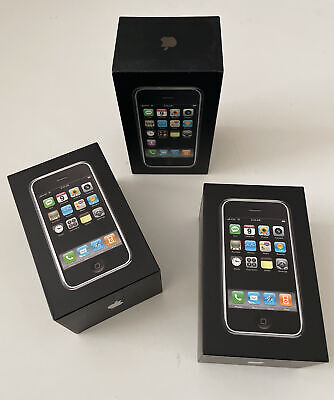 Old Stock Apple iPhone 2g - 1st Generation 4gb- 8gb-16gb - Collectors Rare