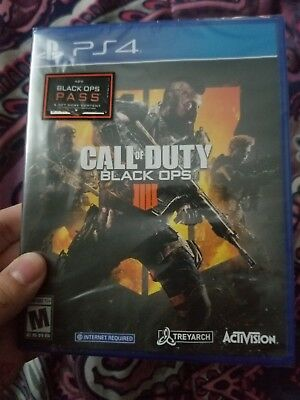 Call of Duty Black Ops 4 PlayStation 4 2018 w Season Pass - Game Protection